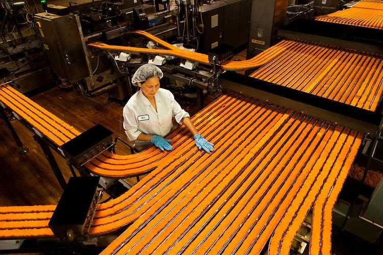 manufacturing ToastChee peanut-butter