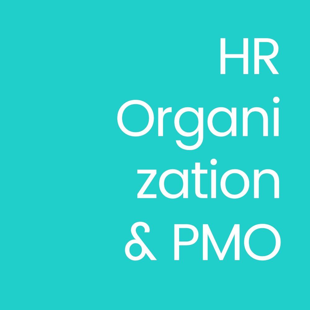 HR Organization & PMO