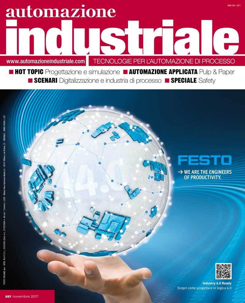 Copertina Automazione Industriale Novembre 2017