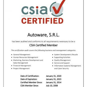 CSIACertificateAutoware